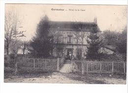 25124  (51) - Germaine - Hotel De La Gare - Ed ? Cl Mulot, Reims -café - France