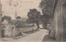 BUCY-le-LONG - Une Rue Conduisant à L'Eglise - France