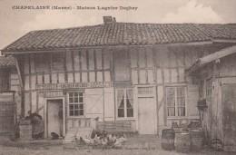 CHAPELAINE - LA MAISON LUGNIER DEGHEY - EPICERIE-MERCERIE-CAFE-BILLARD - BELLE ANIMATION - - Autres Communes