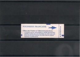 POLYNÉSIE  Année  1996 Carnet  N° Y/T :507 - Carnets