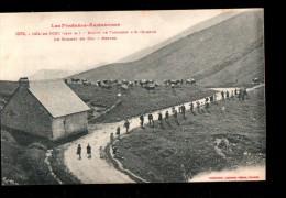 09 COL DE PORT (envs Massat) Route De Tarascon à St Girons, Refuge, Ed Labouche 1079, Pyrénées Ariégeoises, 1917 - Zonder Classificatie