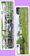 Marque-page °° Printemps De Gerbéviller 2004 Journée Des Plantes Au Château  °-°  6 X 20 - Segnalibri