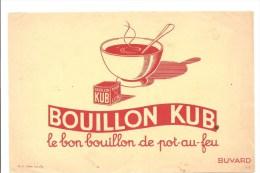 Buvard Bouillon KUB Le Bon Bouillon De Pot Au Feu - Sopas & Salsas