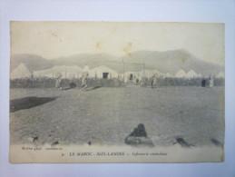 LE  MAROC  -  SIDI-LAMINE  :  Infirmerie Ambulance   XXX   1916 - Marruecos