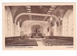 25137 RENNES - PENSIONNAT SAINTE GENEVIEVE - La Chapelle ( Religion Christianisme ) -ed Tourte Petitin - Fougeres