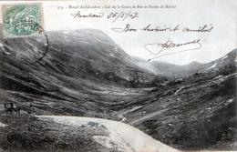 Cpa  Massif Du Glandon-col De La Croix De Fer Et Route Du Rivier - Autres Communes
