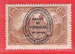 MiNr.26 Xx  Deutschland Deutsche Abstimmungsgebiete Allenstein - Duitsland