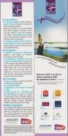 Marque-page °° Sncf - Train + Hôtel Simplifiez-vous Le Voyage Réservez  °-°  5 X 20 - Bookmarks