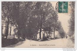 BE-  EYMET   EN DORDOGNE  ROND POINT DE LA GUILLE  CPA CIRCULEE - France