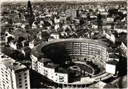 Mulhouse Le Batiment Annulaire, Vue Aérienne Belle Carte Gros Plan - Mulhouse