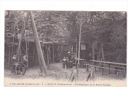 25143  Forêt FONTAINEBLEAU France- Etablissement Roche Éponge -ed 6 Siron -enfant Balancoire Balançoire