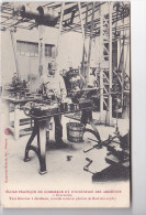 25145 ARDENNES Charleville France- Ecole Pratique Commerce Industrie - Tour Revolver Decolleter Machines Outils-
