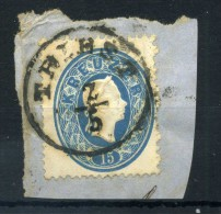 1860-61 AUSTRIA N.21 FRAMMENTO - 1850-1918 Empire