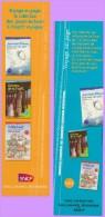Marque-page °° Sncf - Gallimard Voyage En Page -  JL.Etienne L'aventurier Des Pôles  °-°   5 X 19 - Marque-Pages