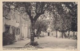 83 - SAINT PAUL EN FORET - Route Nationale (1) - Sonstige Gemeinden