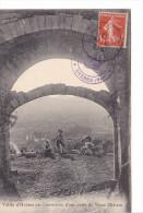 25148 Vallée Hyères Par Ouverture Porte Vieux Chateau --cl Chapeau -tampon N D Consolation -enfant -chanteur Mayol - Hyeres