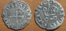 1245/50 - France - DENIER TOURNOIS, LOUIS IX, (Saint Louis), Billon, Argent, Silver, Dup 193/193C - 1226-1270 Lodewijk IX Van Frankrijk (De Heilige)