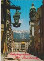 Cpsm 1978-herzog-friedrich Strasse Mit Goldenem Dachl(scan Dos Timbre) - Innsbruck