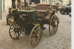 Panhard  Et Levassor Phatéon De 1894 2 Cylindres Licence Daimler A Bruleurs Premiere Automobile A Etre Commercialisée - Taxi & Carrozzelle