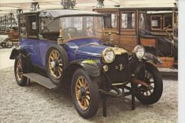 Panhard  Et Levassor  Coupé-chauffeur Du President Poincaré 1915 4 Cylindres 3185 Cm3 Moteur Sans Soupape - Postkaarten