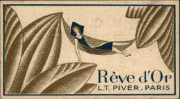 CARTE PARFUMEE - Rêve D'Or - L.T. PIVER - Parfumerie En Gros NANTES - Cartes Parfumées