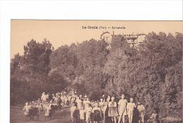 25158  La Croix Var Sylvabelle -sans Ed - Préventorium Enfants Colonie Enfant - France