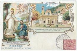 SAVONA (Italia, Liguria) – Ricordo Del Santuario Basilica Di Savona. - Savona