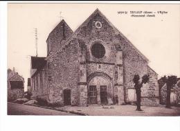 25160 TRELOUP Aisne Eglise Monument Classé -593.6.37, Masse - - France