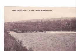 25163 Treloup - Barrage Marne Courcelles -594.37 Masse - Ecluse