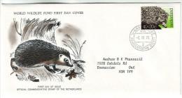 117 Netherlands 1976 Environment Protection: Hedgehog Mi 1070 Hérisson - Period 1949-1980 (Juliana)