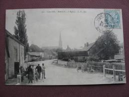 CPA 21 LES MAILLYS MAILLY Quartier De L'Eglise ANIMEE 1905 Canton AUXONNE - France