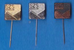 SLOVENIA Pins -  Slovenian Ski Federation Association Biathlon SZS - Biathlon