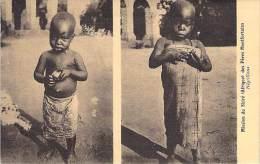 AFRIQUE NOIRE -Black Africa - MOZAMBIQUE : Mission Du SHIRE Des Pères Montfortains : Négrillons - CPA -  ( Enfants ) - Mozambique