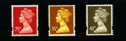 GREAT BRITAIN - 1993  MACHIN   LITHO  2B  SET  MINT NH - 1952-.... (Elisabetta II)