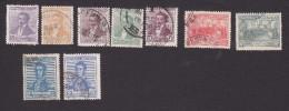 Argentina, Scott #215-223, Used, Laprida, Declaration Of Independence, Jose De San Martin, Issued 1916 - Usati