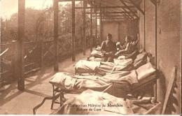 MARCHIN - MILITARIA - SANTE (4570) : Sanatorium Militaire - La Galerie De Cure. Animation. CPA Rare. - Marchin
