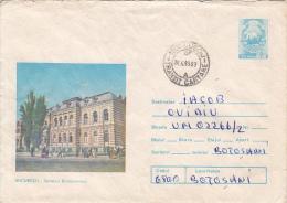 31184- BUCHAREST-BRANCOVEANU HOSPITAL, MEDICINE, COVER STATIONERY, 1983, ROMANIA - Medicina