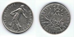 FRANCIA FRANCE DEMI FRANC 1983 P - Francia