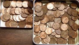 """LOT DE 201 PIECES   """" ONE CENT """"   ANNEES DIVERSES - Coins & Banknotes"""