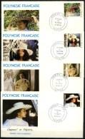 Polynésie Française - FDC - 1983 - Yvert N° 198 à 201 - FDC