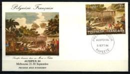 Polynésie Française - FDC - 1984 - Yvert N° PA 184 - FDC