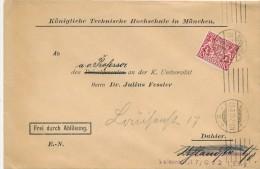 MÜNCHEN -  1Königliche Technische Hochschule  -  Dispatch: Big Letter - Bavaria