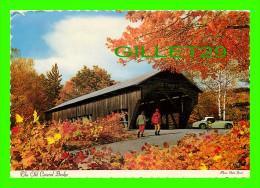 PONT COUVERT - ST-FERDINAND, QUÉBEC - ANIMÉE VIEILLE AUTO SPORT - CIRCULÉE EN 1988 - - Ponts