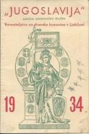 Calendar KA000011 - Yugoslavia Slovenija (Slovenia) Ljubljna 1934 - Kalenders