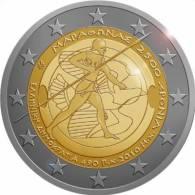 """GRECIA  2€ 2.010 2010 """"MARATON"""" BI-METALICA    SC/UNC       DL-9592 - Grecia"""
