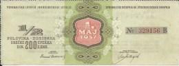 Lottery / Lutrija LU000004 - Yugoslavia Srecka Prvomajska Jugoslavenska 1957 - Lottery Tickets