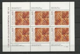 1984 MNH Portugal, Azulejos 15,  Postfris - Blocs-feuillets