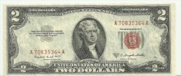 USA $2 series 1953B AA Fr1511 UNC.