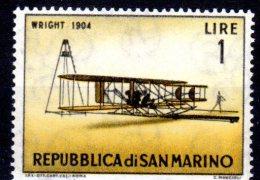 St MARIN - 1962:  Réstrospective De L'aviation (Wright)  N°542** - San Marino