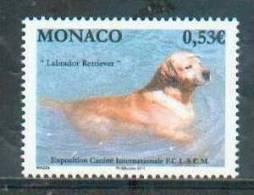 Monaco 2011 - Labrador Retriever, Exposition Canine De Monte Carlo / Monte Carlo Dog Show - MNH - Hunde
